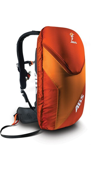 ABS Vario Base Unit inkl 8L Zip-On Red/Orange